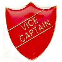 ShieldBadge Vice Captain Red</br>SB014R